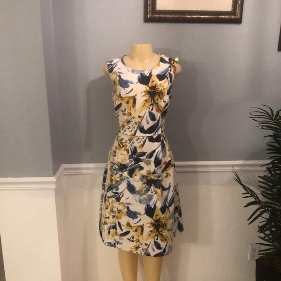 Kate & Lilly Sz 8 Floral Dress NWT!!
